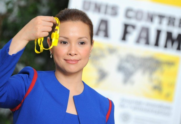 Photo Flash:  Lea Salonga Is New UN Ambassador In Action Against Hunger