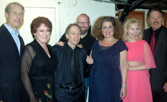 Gregg Edelman, Judy Kaye, Scott Siegel, Scott Coulter (Director of tonigh's show) Mar Photo
