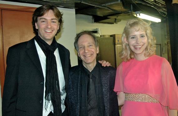 Brian Charles Rooney, Scott Siegel and Nellie MacKay Photo