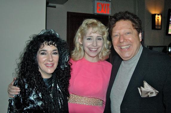 Barbara Siegel, Nellie MacKay and Robert R. Blume Photo