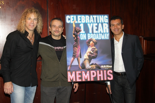 David Bryan, Joe DiPietro and Sergio Trujillo
