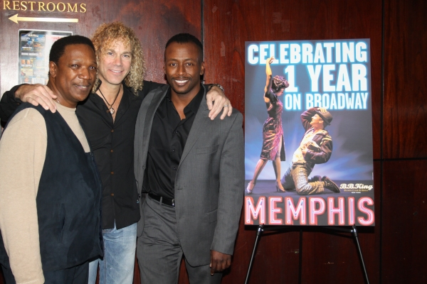 Shelton Becton, David Bryan and Kenny J. Seymour