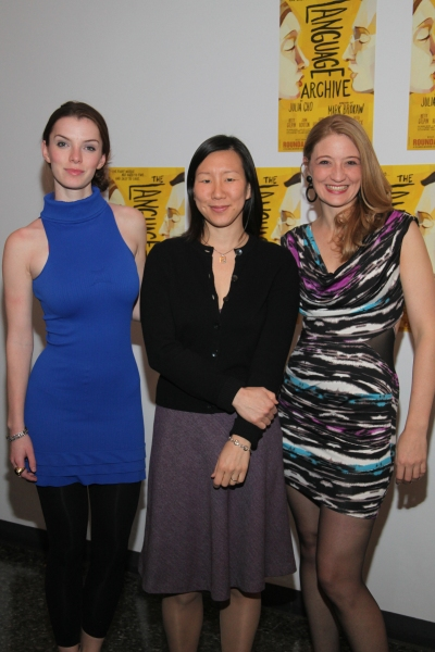 Betty Gilpin, Julia Cho and Heidi Schreck
