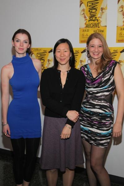 Betty Gilpin, Julia Cho and Heidi Schreck
