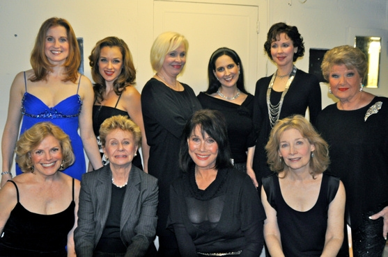 Carol Demas, Jo Sullivan Loesser, Michele Lee, Maureen Silliman, Christiane Noll, Sarah Uriarte Berry, Nancy Opel, Stephanie D'Abruzzo, Crista Moore and Marilyn Maye