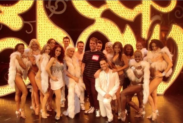 Photo Flash: Perez Hilton Visits PEEPSHOW!