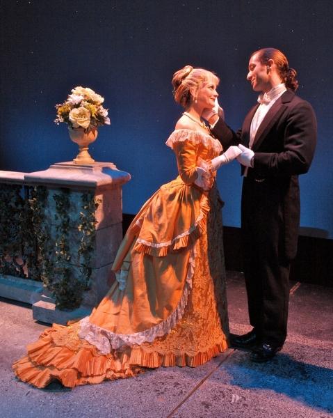 Jennifer Babiak and Xander Chauncey