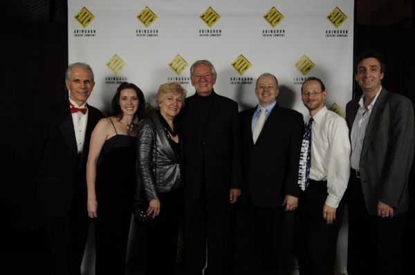 Kim T. Sharp, Piper Gunnarson, Jan Buttram, Honoree Robert Brustein, Doug DeVita, Rick Brody and Samuel J. Bellinger