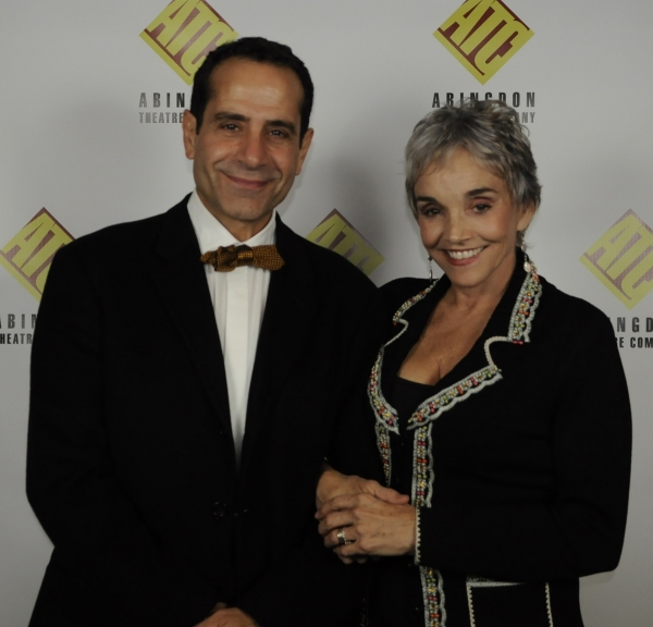 Tony Shalhoub and Brooke Adams at Abingdon Honors Robert Brustein