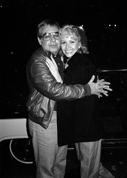 Tom Bosley & wife - New York City, 198