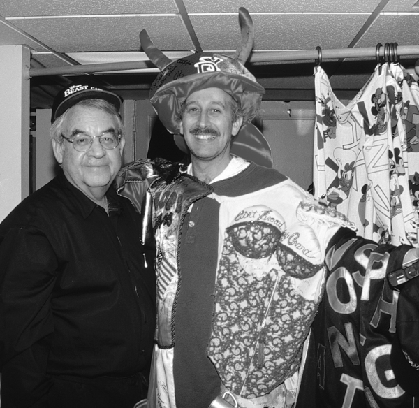 "Tom Bosley & Bill Noble - ""BEAUTY & THE BEAST"" Gypsy Robe Ceremony 4/18/1994"