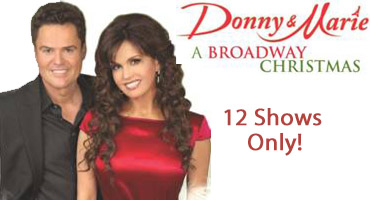 DONNY & MARIE - A BROADWAY CHRISTMAS to Play Marriott Marquis