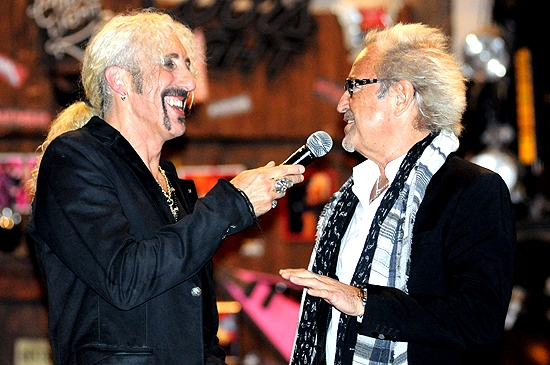 Dee Snider & Mick Jones