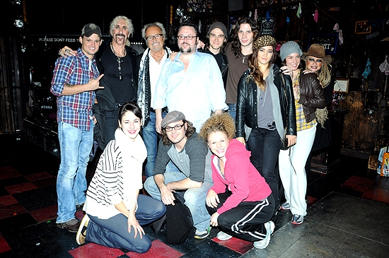 Dee Snider, Mick Jones & the cast of Rock of Ages