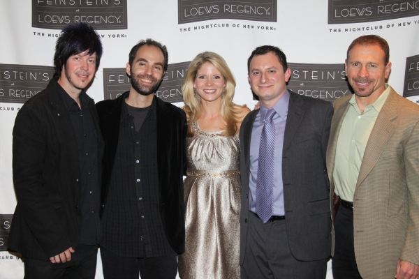 Mark Vanderpoel (Bass), Antoine Silverman (Violin), Kelli O'Hara, Dan Lipton (Musical Director/Piano) and Howard Joines (Drums)