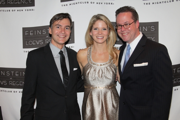 Bill Schermerhorn, Kelli O'Hara and Dan Dutcher