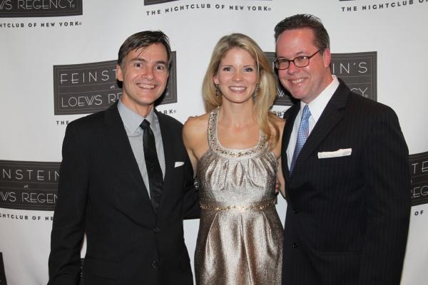 Bill Schermerhorn, Kelli O'Hara and Dan Dutcher