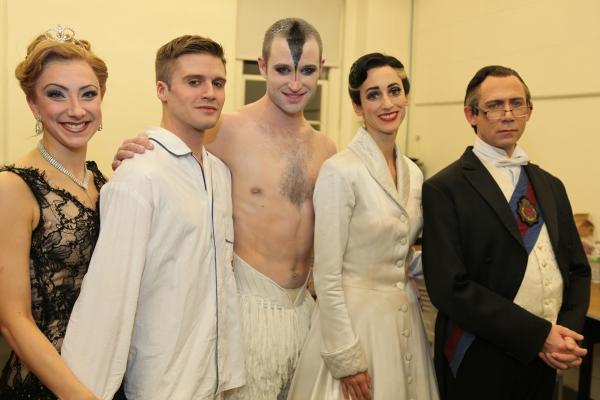 Shelby Williams, Simon Williams, Richard Winsor, Nina Goldman and Steve Kirkham Photo