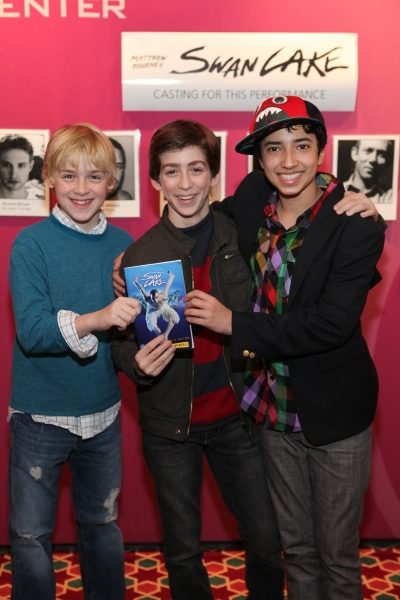 Photo Exclusive: BILLY ELLIOT Cast Visits SWAN LAKE