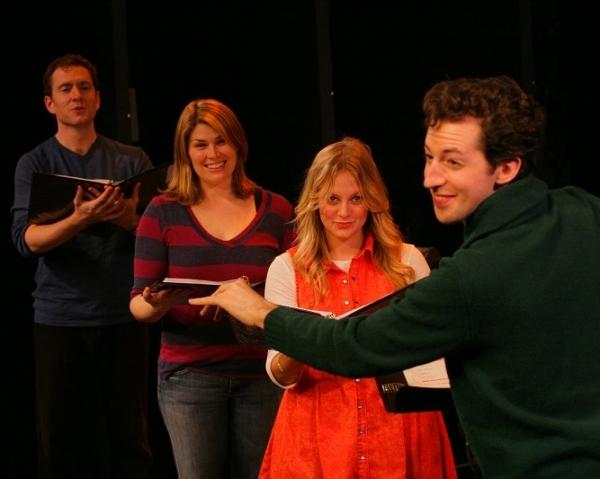 Adam Monley, Heidi Blickenstaff, Jenni Barber and Josh Grisetti Photo