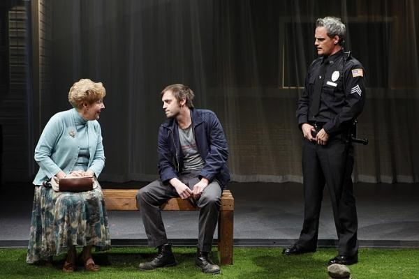 Georgia Engel, Pete Simpson & Michael Park at MIDDLETOWN at Vineyard Theatre