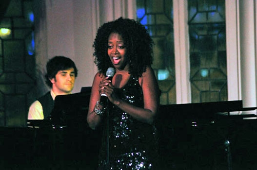 Photo Coverage: Jennifer Leigh Warren at The Cabaret at the Columbia Club