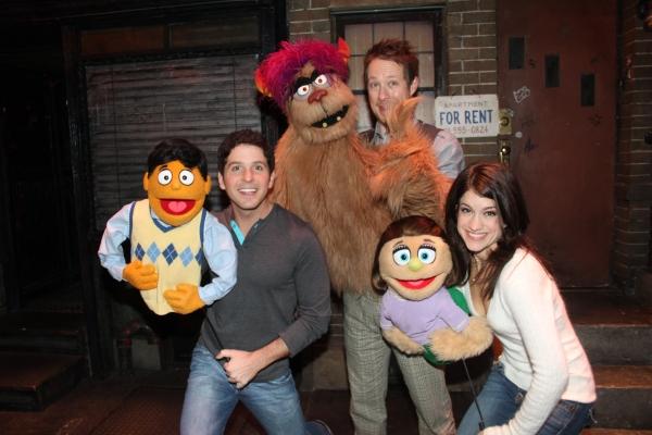 Princeton, Howie Michael Smith, Trekkie Monster, Cullen R. Titmas, Kate Monster aand Sarah Stiles