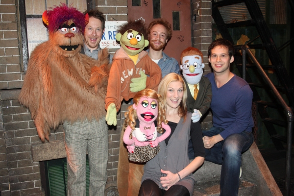Trekkie Monster, Cullen R. Titmas, Micky, Rob Morrison, Lucy The Slut, Becca Ayers, Princeton and Jed Resnick