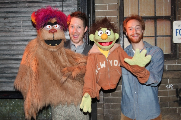 Trekkie Monster, Cullen R. Titmas, Micky, and Rob Morrison