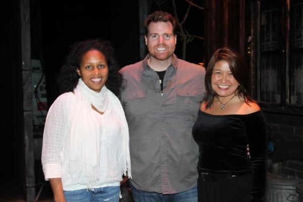 Jasmin Walker, Nick Kohn and Hazel Anne Raymundo Photo