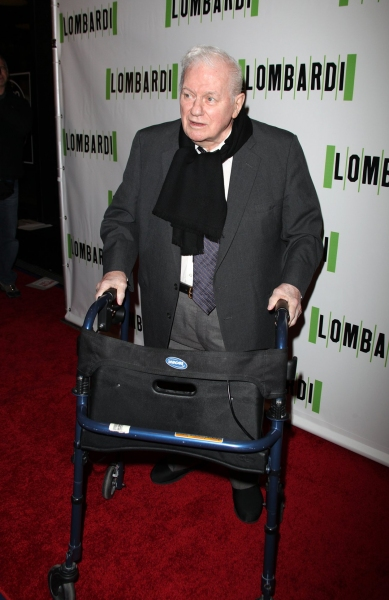 Charles Durning at LOMBARDI Red Carpet Arrivals