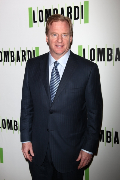 Roger Goodell at LOMBARDI Red Carpet Arrivals