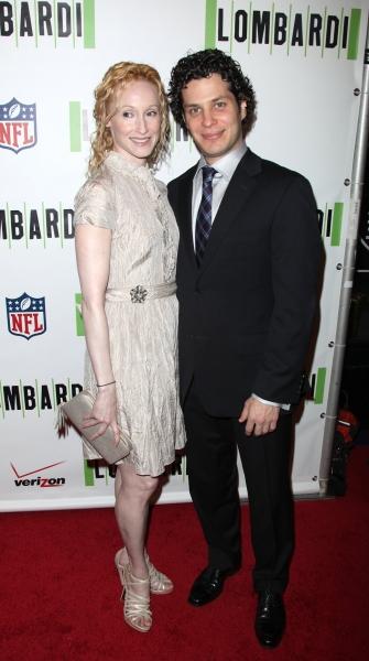 Angela Christian and Thomas Kail