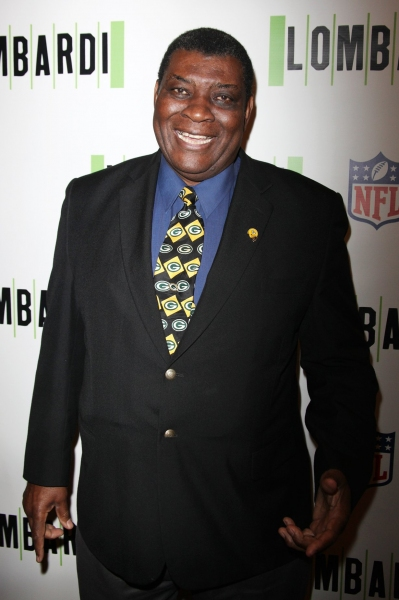 Dave Robinson at LOMBARDI Red Carpet Arrivals