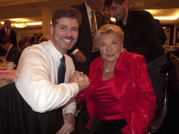 Harlan Boll with Esther Williams Photo