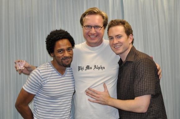 Jesse Means, Matt Castle and Adam Monley