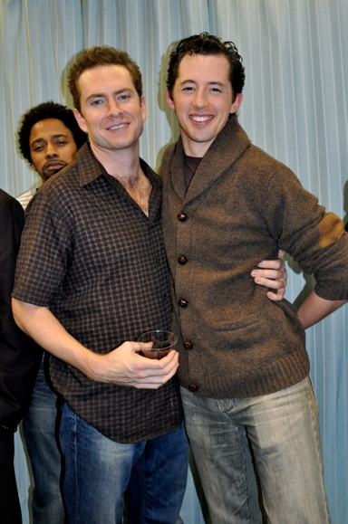 Adam Monley and Josh Grisetti Photo