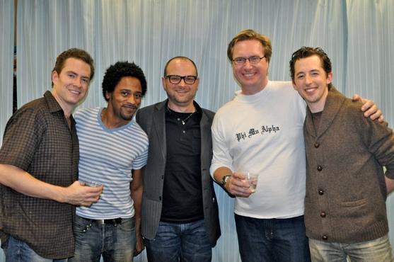 Adam Monley, Jesse Means, Carl Andress (Director), Matt Castle and Josh Grisetti Photo