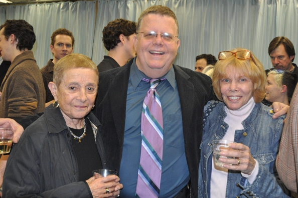 Patricia Birch, James Morgan and Judy Abrams