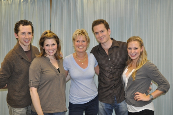 Josh Grisetti, Heidi Blickenstaff, Shelby Colemen, Adam Monley and Jenni Barber Photo