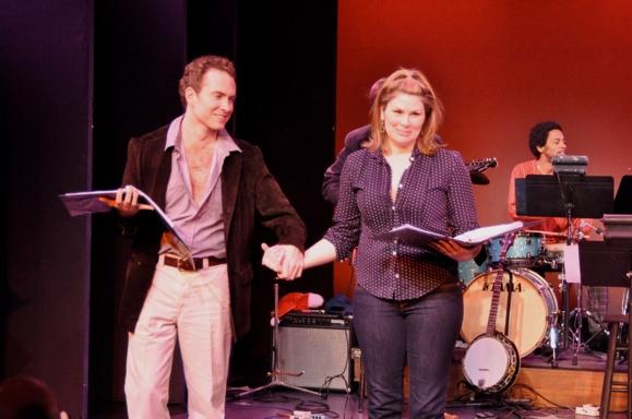 Adam Monley, Heidi Blickenstaff and Jesse Means Photo