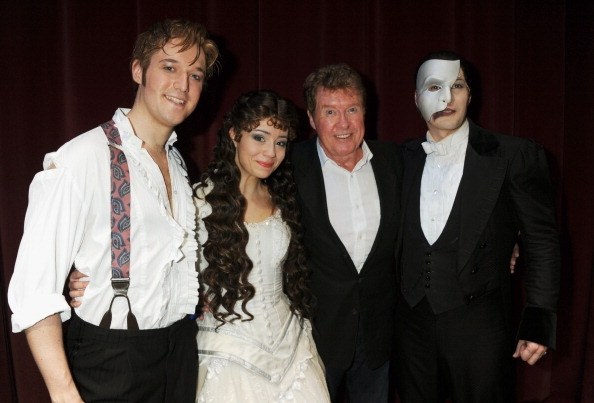 Photos: PHANTOM Celebrates 10,000th West End Show with Michael Crawford & Andrew Lloyd Webber!