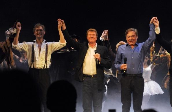 Will Barratt, Michael Crawford and Andrew Lloyd Webber