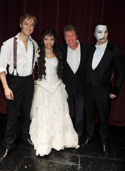 Will Barratt, Sofia Escobar, Michael Crawford and Stephen John Davis Photo