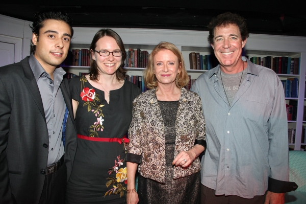 Manual Herrera, Abby Grotke, Eve Plumb and Barry Williams