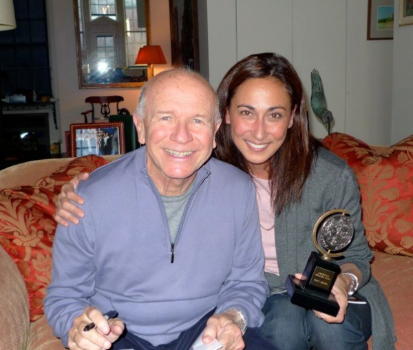 Terrence McNally, Cherie Gil at  McNally Meets Gil of MASTER CLASS Philippines