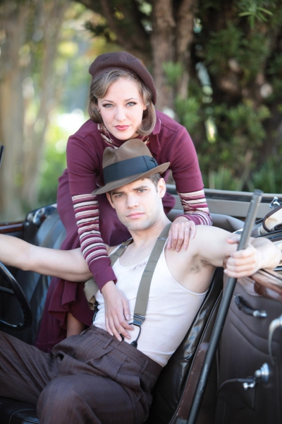 Photo Flash: Osnes & Jordan Star in BONNIE & CLYDE