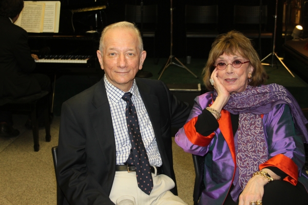 Jonathan Tunick and Phyllis Newman at Sondheim Celebrates Release of 'Finishing the Hat' in NYC
