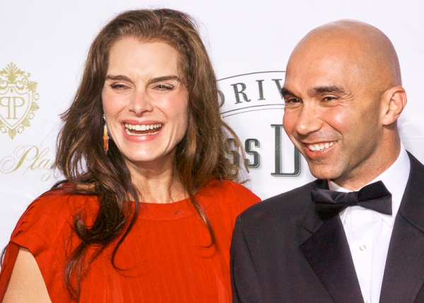 Brooke Shields & Shawn Emamjomeh