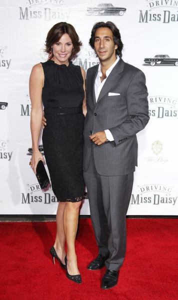 Countess LuAnn de Lesseps and Jacques Azoulay at DRIVING MISS DAISY Opening Night Party